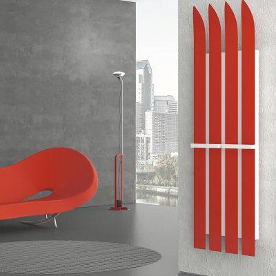 Radiatore Ski rosso - K8 radiatori