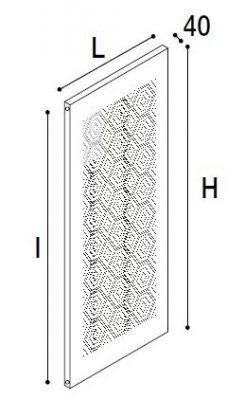 Immagine radiatore Mosaico