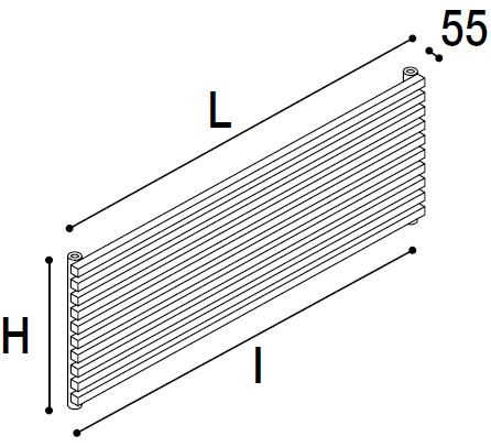Immagine radiatore DIAPASON 01