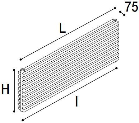 Immagine radiatore DIAPASON 02