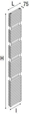 Immagine radiatore DIAPASON S2