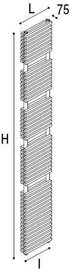 Immagine radiatore DIAPASON S1