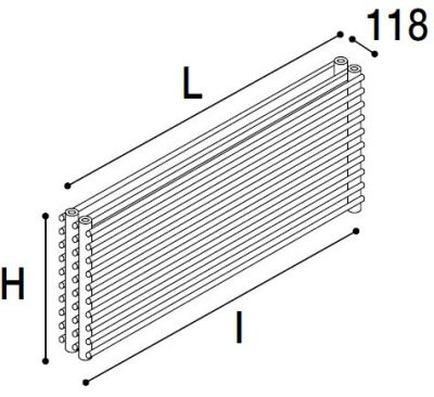 Immagine radiatore ISLA 03