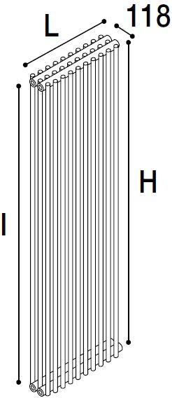 Immagine radiatore ISLA 3