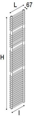 Immagine radiatore ISLA S2