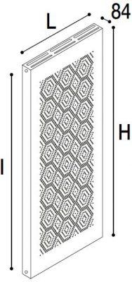 Immagine radiatore POWER MOSAICO