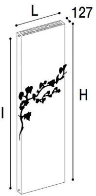 Immagine radiatore POWER NATURE RIBES