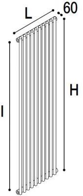Immagine radiatore ROUND 1