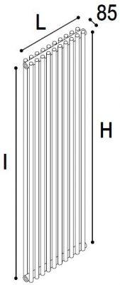 Immagine radiatore ROUND 2