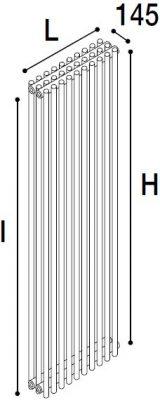 Immagine radiatore ROUND 3