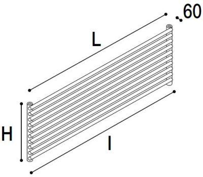 Immagine radiatore ROUND O1