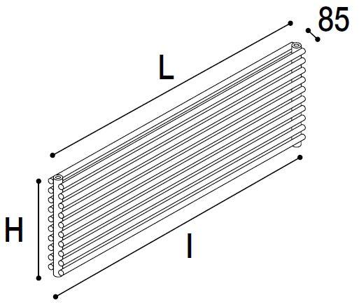 Immagine radiatore ROUND O2