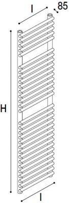 Immagine radiatore ROUND S2